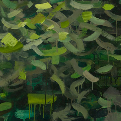 River II, Painting by Mia Scheffey